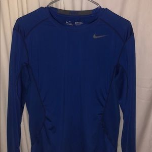 Nike Pro Combat Fitted Long Sleeve Shirt